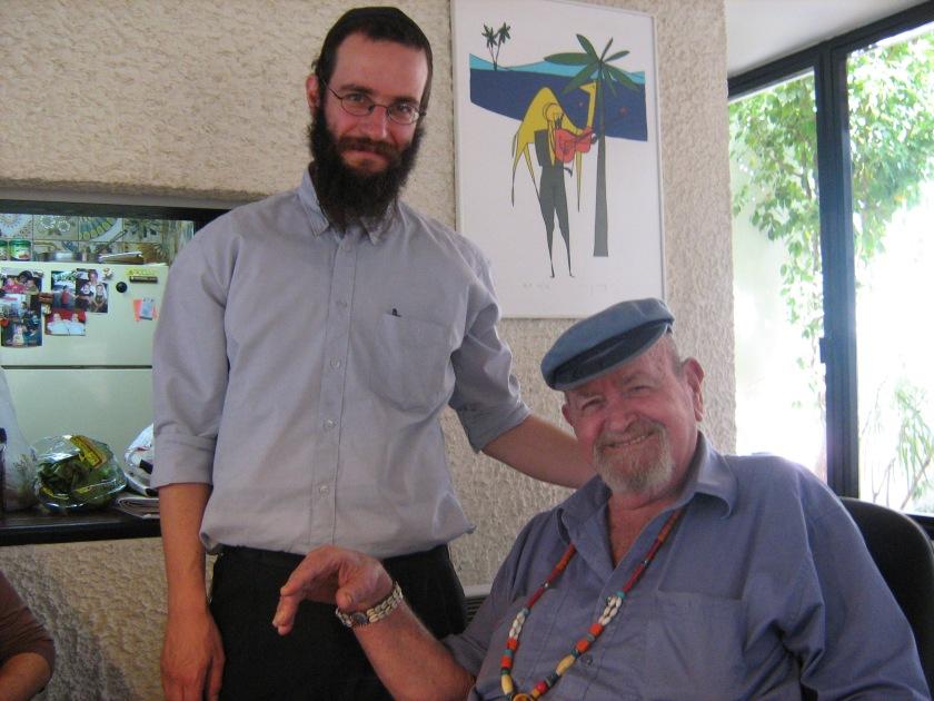 אבי ואני לפני מחלתו