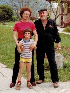 אבי, אמי ואני בילדותי